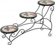 Подставка для растений Mario Trezzini на 3 горшка Розы XD-V08 84х25x49 см