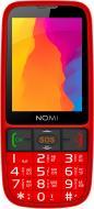 Мобільний телефон Nomi i281 Plus red