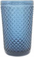 Склянка висока Corn 350 мл синій Fiora