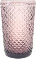Склянка висока Corn 350 мл рожевий Fiora