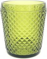 Склянка низька Corn 290 мл зелений Fiora
