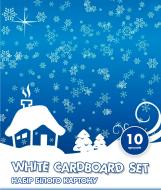 Набір білого картону А4 10 аркушів CF21000-02 Cool For School