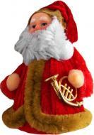 Мягкая игрушка Дед Мороз 10 см