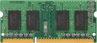 Оперативна пам'ять Kingston SODIMM DDR3 2 GB (1x2GB) 1600 MHz (KVR16LS11S6/2)