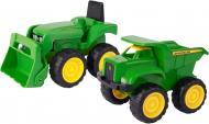 Ігровий набір Tomy John Deere з міні трактора з ковшем та самоскидом 42952V