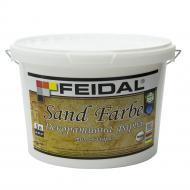 Декоративна фарба Feidal Sand Farbe срібло 5 л