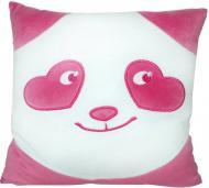 Мягкая игрушка Тигрес Подушка Панда - смайл влюблен 33 см