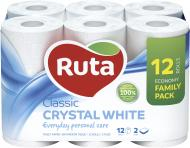 Туалетная бумага Ruta Classic двухслойная 12 шт.