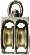 Блок подвійний нікель 7 мм