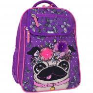 Рюкзак шкільний Bagland Відмінник 20 л фiолет суб.890 (58070)