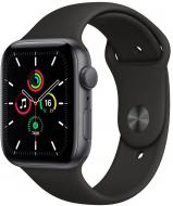 Смарт-часы Apple Watch SE GPS 40mm space grey Aluminium Case with Black Sport Band(MYDP2UL/A)