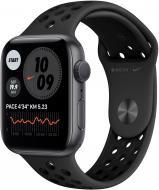 Смарт-часы Apple Watch SE Nike GPS 44mm space grey Aluminum Case with Nike Sport Band(MYYK2UL/A)