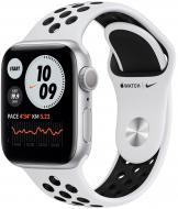 Смарт-часы Apple WatchNikeSeries6GPS40 мм silver AluminumCasewithPure Platinum/Black Nike Sport Band(M00T3UL/A)