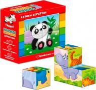 Кубики Vladi Toys Зоопарк ZB1001-02