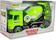 Машинка Wader бетонозмішувач зелений «Middle truck» 39485