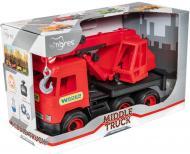 Машинка Wader кран «Middle truck» 39487