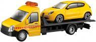 Ігровий набір Bburago 1:24 автоперевізник c автомоделлю Alfa Romeo Mito