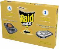 Принада для тарганів Raid MAX з регулятором розмноження 4 шт.