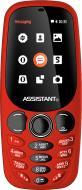 Мобільний телефон Assistant AS-201 red