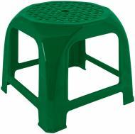 Табурет пластиковий Алеана Малятко 27x32x32 см зелений