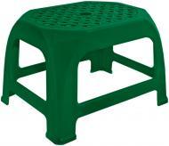 Табурет пластиковий Алеана Крихітка 20x30,6x24 см зелений