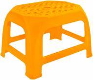 Табурет пластиковий Алеана Крихітка 20x30.6x24 см помаранчевий