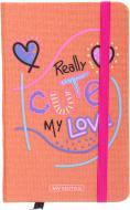 Книга для нотаток Real love А6 96 аркушів