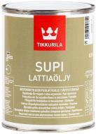 Масло TIKKURILA Supi Lattiaoljy бесцветный 0,9 л