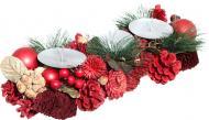 Композиція новорічна Свічник на 3 свічки декоративний 7005152258