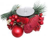 Композиція новорічна Свічник декоративний 7005152260