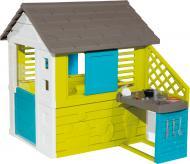Ігровий будиночок Smoby Райдужний з літньою кухнею 810711