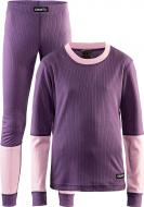 Комплект термобілизни Craft Baselayer Set J р. 134-140 рожевий 1905355-750701