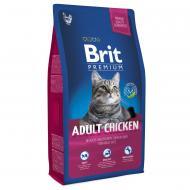 Корм для дорослих котів Brit Premium Курка 8 кг