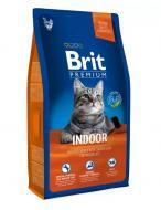 Корм для дорослих котів, що живуть у приміщенні Brit Premium Курка 8 кг