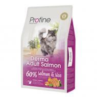 Корм для дорослих довгошерстих котів Profine Лосось та рис 10 кг