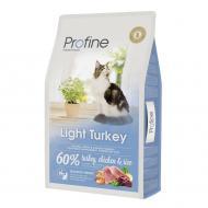 Корм для дорослих котів з надмірною вагою Profine Індичка та рис 10 кг