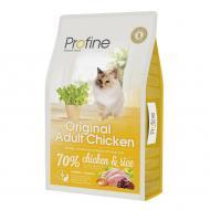 Корм для дорослих котів всіх порід Profine Курка та рис 10 кг