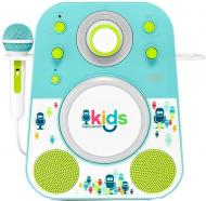 Акустична система Singing Machine Sing-Along Bluetooth Blue SMK250BG