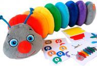 Развивающая игрушка Масик Ludum Гусеница Rainbow МС 040701-01