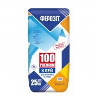Клей для плитки Ферозит 100 Premium 25кг