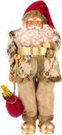 Декоративна фігура Дід Мороз гламурний MC09-14026 50 см