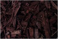 Мульча деревна декоративна колорована, колір ШОКОЛАД 60 л