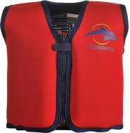 Плавальний жилет Konfidence Original Jacket на 6-7 років Red/Yellow KJ01LC