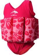 Купальник-поплавок Konfidence Floatsuits на 1-2 роки Pink hibiscus FS05-02