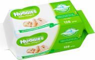 Дитячі вологі серветки Huggies Ultra Comfort з алое 128 шт.