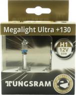 Лампа галогенна 50310XNU Megalight Ultra +130% H1 P14.5s 12В 55 Вт 2 шт.