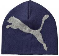 Шапка Puma ESS Big Cat Beanie синий 5292509