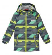 Куртка детская для мальчика JOIKS р.128 темно-серый EW-03