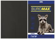 Бумага офисная цветная Buromax A4 80 г/м Dark 50 листов BM.2721450-01 черный
