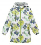Куртка детская для девочки JOIKS р.110 желтый EW-07